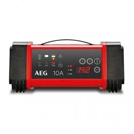 AEG Automotive 97024 Mikroprozessor Batterie Ladegerät LT 10 Ampere für 12 / 24 V, 9-stufig, Power-Supply, automatischer Temperaturausgleich - 1