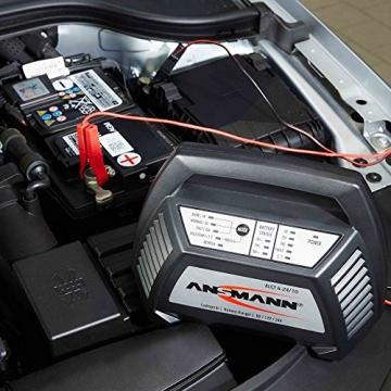 ANSMANN 1001-0014 Autobatterie ALCT Ladegerät ALCT 40353 - Vollautomatisches Batterieladegerät für Autobatterien & Bleiakkus mit 6V, 12V & 24V / 10A - - 2