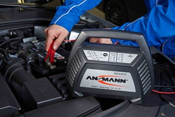 ANSMANN 1001-0014 Autobatterie ALCT Ladegerät ALCT 40353 - Vollautomatisches Batterieladegerät für Autobatterien & Bleiakkus mit 6V, 12V & 24V / 10A - - 4