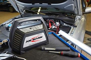 ANSMANN 1001-0014 Autobatterie ALCT Ladegerät ALCT 40353 - Vollautomatisches Batterieladegerät für Autobatterien & Bleiakkus mit 6V, 12V & 24V / 10A - - 6