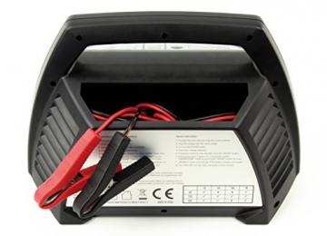 ANSMANN 1001-0014 Autobatterie ALCT Ladegerät ALCT 40353 - Vollautomatisches Batterieladegerät für Autobatterien & Bleiakkus mit 6V, 12V & 24V / 10A - - 7