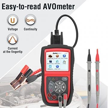 Autel KFZ-Diagnosegeräte AL539B obd2 Diagnose,Fehlercoder lesen und löschen,Echtzeit-PCM-Daten,Batterie-Test,AVOmeter für Spannung usw - 3