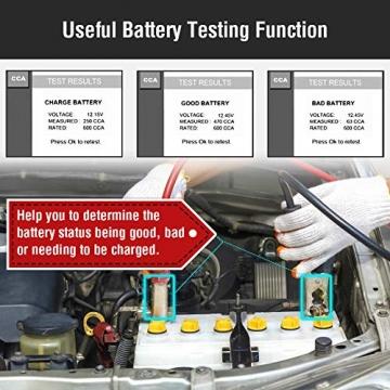 Autel KFZ-Diagnosegeräte AL539B obd2 Diagnose,Fehlercoder lesen und löschen,Echtzeit-PCM-Daten,Batterie-Test,AVOmeter für Spannung usw - 7