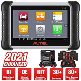 Autel MaxiPRO MP808K (Aktualisierte Version von MP808 DS808) OBD2 Diagnosegerät Auto Scanner, OE-Level Alle Systeme Diagnose, 25 Dienstleistungen, Bidirektionale Steuerung, AutoVIN - 1