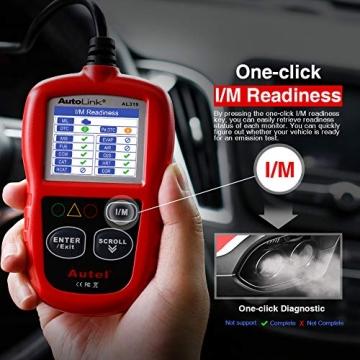 Autel obd2 Diagnosegerät AL319 EOBD Diagnose für Diesel und Benzin Fehlercode lesen und löschen,MIL ausschalten,Echtzeitdaten und Freeze Frame anzeigen,DTC-Definition - 8