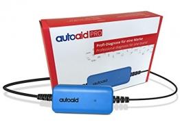 autoaid® Pro Kfz Diagnosegerät für alle Volvo - herstellerspezifische Tiefendiagnose für C30, S60, V60, XC60, V70, S80, XC 90 inkl. Service Rest, Parkbremse, Codierung usw. - 1