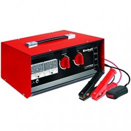 Einhell 1078121 Batterie-Ladegerät CC-BC 30 (Ladestrom 6-fach, umschaltbare Ladespannung 6V/12V/24V, Starthilfeeinrichtung m. Fernstartkabel, Schutzklasse I) - 1