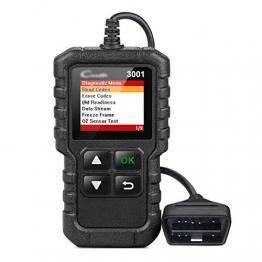 HENGX OBD2 Diagnosegerät Auto LKW KFZ/CR3001 OBD2 Vollfunktionscodeleser/Voll OBD2 Eobd Scanner Scan Tool,CR3001-Black - 1