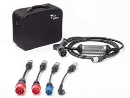 Juice Booster 2 Wallbox 11kw / 22kW - 32A 3-Phasig, 1-Phasig Typ 2 AC | German Traveller Set | inkl. CEE32, CEE16, Camping, Schuko - 1