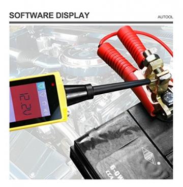 KFZ Auto Power Probe Kit, AUTOOL 6-30V Elektrisches Diagnosegerät KFZ Multimeter Voltmeter Auto Spannungsprüfer mit LED Lampe für 6V/12V/24V für Auto Boot Motorrad Schaltkreis Systeme - 2