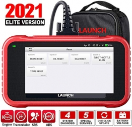 LAUNCH X431 CRP129E Obd2 Touchscreen Codeleser Scanner One Click Update Support-Engine ABS SRS at + Öllampen-Reset, EPB-Reset, SAS-Rest, Gaspedal-Reset, TMPS-Reset - 1