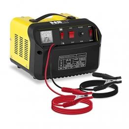 MSW Autobatterie Ladegerät Kfz Batterieladegerät S-CHARGER-50A.3 (Starthilfe-Funktion, 12/24 V Ladespannung, 20/30 A Ladestrom, 130 A Startstrom, 20-300 Ah) - 1