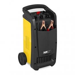 MSW Autobatterie Ladegerät Kfz Batterieladegerät S-Charger-65A (Starthilfe-Funktion, Timer, 12/24 V Ladespannung, 100 A Ladestrom, 430 A Startstrom, 100-800 Ah, LED-Display, kompakt) - 1