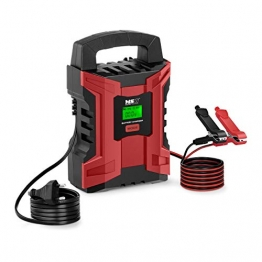 MSW Autobatterieladegerät Batterieladegerät Kfz Auto und Motorrad MSW-CBC-10ALCD (6 V/2 A, 12 V/10 A, 4 Lademodi, 180 W, Batterieleistung: 4-200 Ah) - 1