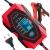 SENTUOSI Ladegerät Autobatterie 12V/24V Batterieladegerät Motorrad Vollautomatisches Intelligentes Erhaltungsladegerät mit LCD-Touchscreen für Lithium, Gel, LifePO4, AGM, Auto/Motorrad Batterie - 1