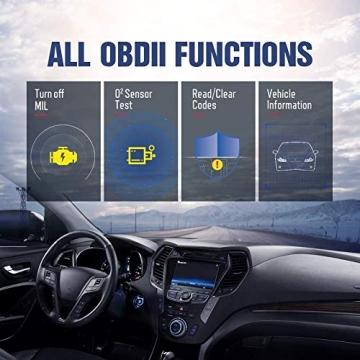 thinkcar OBD100 deutsch OBD2-Diagnosegerät für obd2 Fahrzeuge, Emission Fehlercode-Auslesegerät, 10 OBDII Funktion Diagnose für Benzin & Diesel - 3