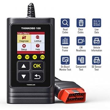 thinkcar OBD100 deutsch OBD2-Diagnosegerät für obd2 Fahrzeuge, Emission Fehlercode-Auslesegerät, 10 OBDII Funktion Diagnose für Benzin & Diesel - 8