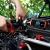 URAQT Ladegerät Autobatterie, 8A 12V/24V KFZ Batterieladegerät Auto mit LCD-Touchscreen, Batterie Vollautomatisches Intelligentes Erhaltungsladegerät für Auto, Motorrad, Rasenmäher oder Boot (#1) - 3