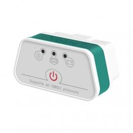 vgate Bianco-verde Bluetooth3.0 Bianco-Verde iCar 2 Bluetooth3.0 EOBD OBDII OBD 2 KFZ Auto Interface Diagnose Android - 1