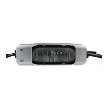 E-Autos.de Mobile Ladestation für Elektroautos & Plug-In-Hybride I Timerfunktion I 5m Kabellänge I inklusive Wandhalterung I Typ 2 (Mennekes) I 3,7 kW I 16 A I 1-phasig - 3