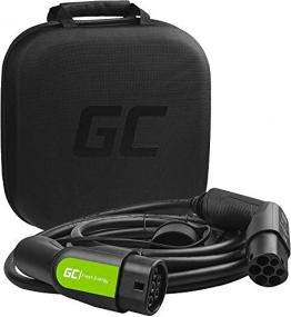 Green Cell® GC Type 2 Ladekabel für EV Elektroautos PHEV | 22kW | 32A | Typ 2 auf Typ 2 | 7 Meter | 3-Phasig | Kompatibel mit Tesla Model S / 3 / X/Y, ID.3, i3, Leaf, ZOE, EQC, I-Pace, E-Tron - 1