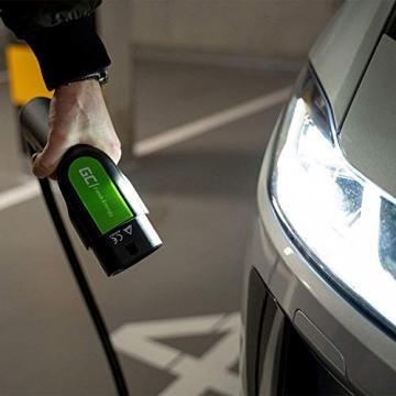 Green Cell® GC Type 2 Ladekabel für EV Elektroautos PHEV | 22kW | 32A | Typ 2 auf Typ 2 | 7 Meter | 3-Phasig | Kompatibel mit Tesla Model S / 3 / X/Y, ID.3, i3, Leaf, ZOE, EQC, I-Pace, E-Tron - 4
