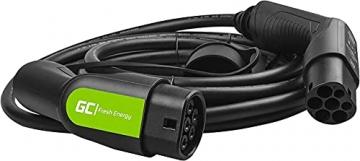 Green Cell® GC Type 2 Ladekabel für EV Elektroautos PHEV | 22kW | 32A | Typ 2 auf Typ 2 | 7 Meter | 3-Phasig | Kompatibel mit Tesla Model S / 3 / X/Y, ID.3, i3, Leaf, ZOE, EQC, I-Pace, E-Tron - 8