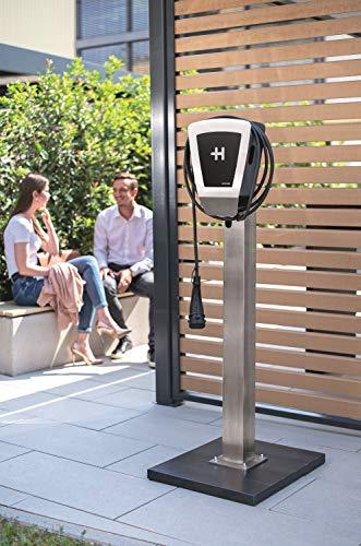 Heidelberg Wallbox Home Eco - Ladestation Elektro- & Hybrid Autos 11 kW maximale Ladeleistung (3,5m) - 4