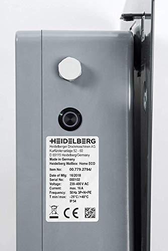Heidelberg Wallbox Home Eco - Ladestation Elektro- & Hybrid Autos 11 kW maximale Ladeleistung (3,5m) - 8