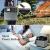 Hochleistungsakku Generator 400Wh Tragbare Energiespeicher mit Lithium-Ionen Zellen Solar Generator(Super Leichtgewicht, nur 5,6 kg,ladbar über die Steckdose, Solarzellen, 12V – Autosteckdose) - 6