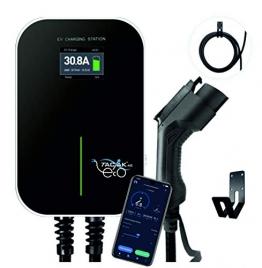 Ladestation für Elektroautos - mit Ladekabel und LCD-Anzeige, 11 KW - förderfähig nach KFW-Prog. 440 - 1