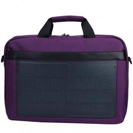 SALUTUYA Solar Tasche Tragbare 8W 5V / 1.2A Langlebige Polyester Power Charging Solar Handtasche, für Power Bank, Kamera, andere elektronische Produkte, für Männer & Frauen - 1