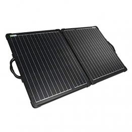 WATTSTUNDE 200W Solarkoffer ULTRA LIGHT WS200SUL - stabiles, faltbares Solarmodul in leichtbauweise (200W ohne Laderegler) - 1