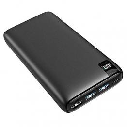 A ADDTOP Powerbank 26800mAh, USB C externer Akku mit 18W Power Delivery, Tragbares Ladegerät mit 4 Ports kompatibel mit Smartphone, Tablets und mehr - 1