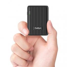 Powerbank 10000mAh, PD 18W USB C und QC 3.0 USB A Output Power Bank klein mit Ultraleicht Externer Akku für Phone11 Pro/11/Xs Max, Samsung S10/Note10, iPad, Tablets usw - 1