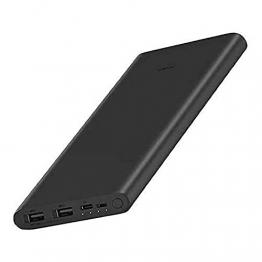 Powerbank Xiaomi MI 18 W Fast Charge Power Bank 3, 10000 mAh, Schwarz - 1